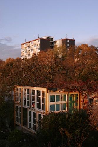 Bauanleitung Gewächshaus aus alten Fenstern