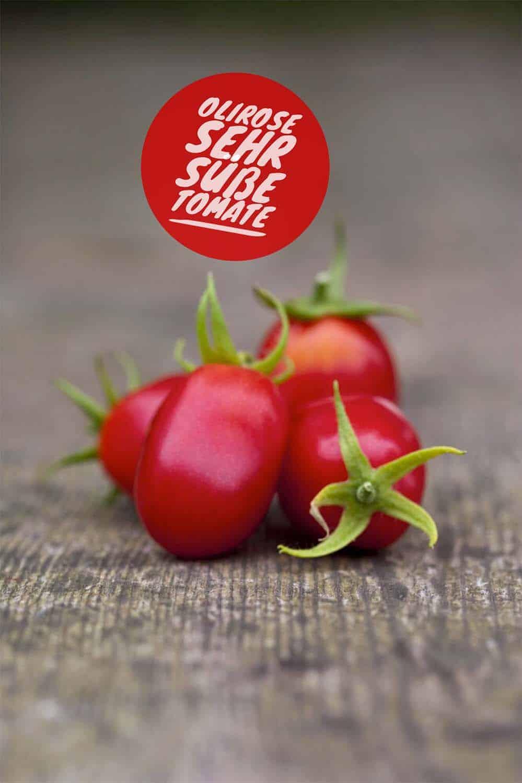Meine bewährte Top Five Tomatenliste: Olirose, sehr süße Cocktailtomate, Gewächshaussorte, Braunfäuleanfällig