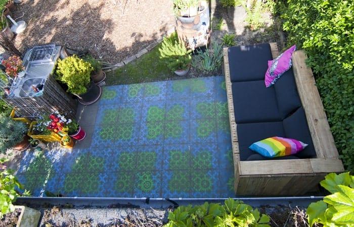 Bauanleitung Paletten-Lounge, Sofa