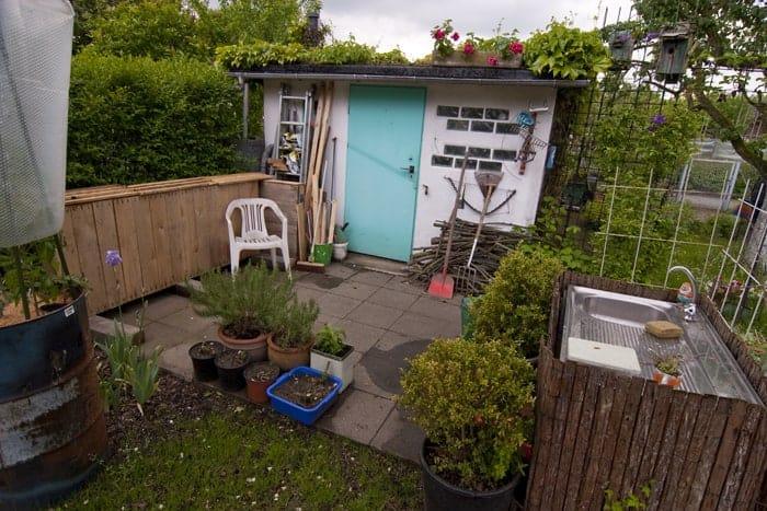 Bauanleitung Paletten-Lounge, Übersicht