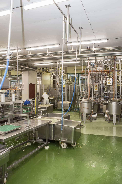 tofu produktionshalle