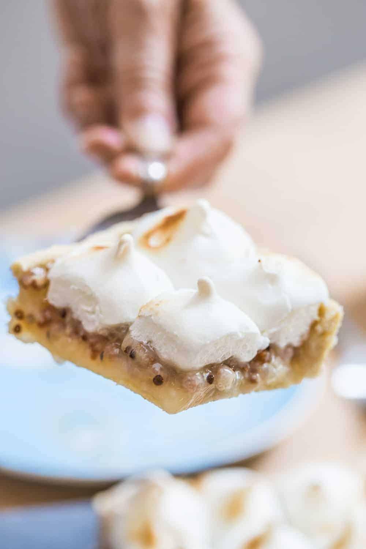 Johannisbeer-Baiser-Kuchen Rezept