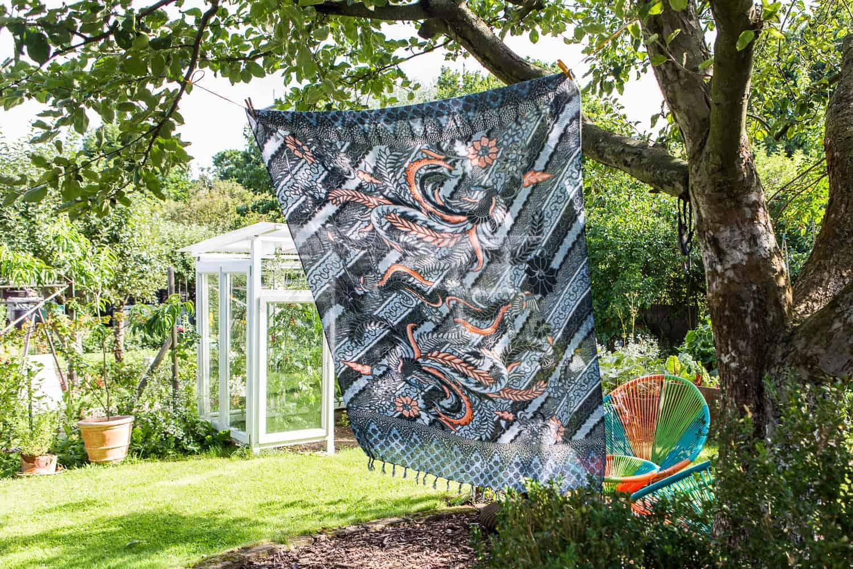 Sichtschutz im Garten mobiler
