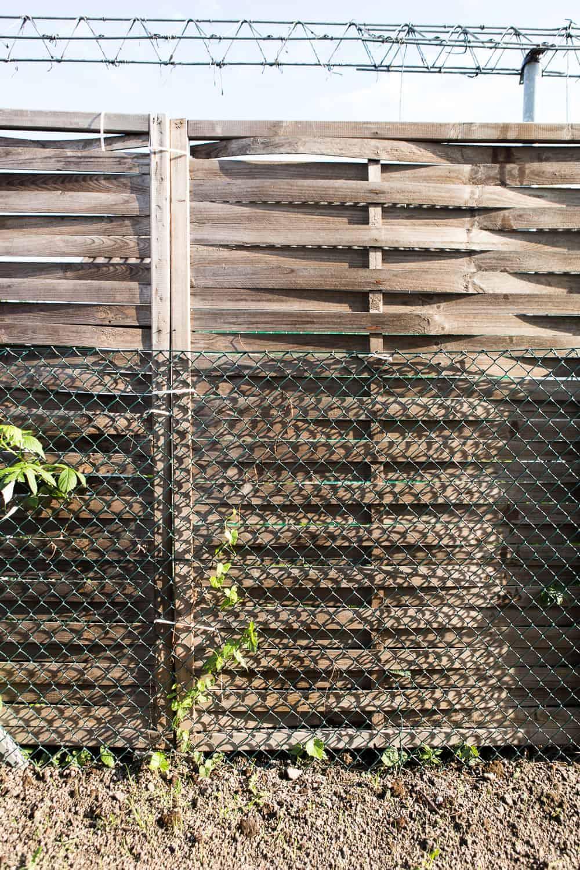 Sichtschutz im Garten fertige Elemente