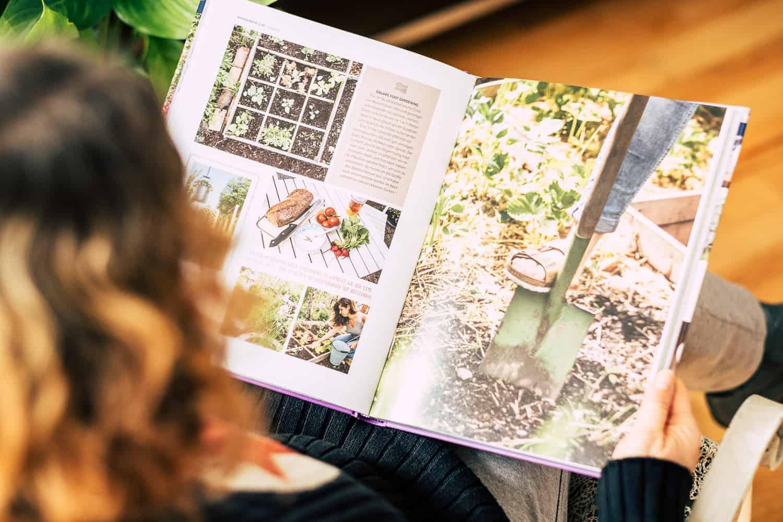 Buchvorstellung Garden Girls Innenseite