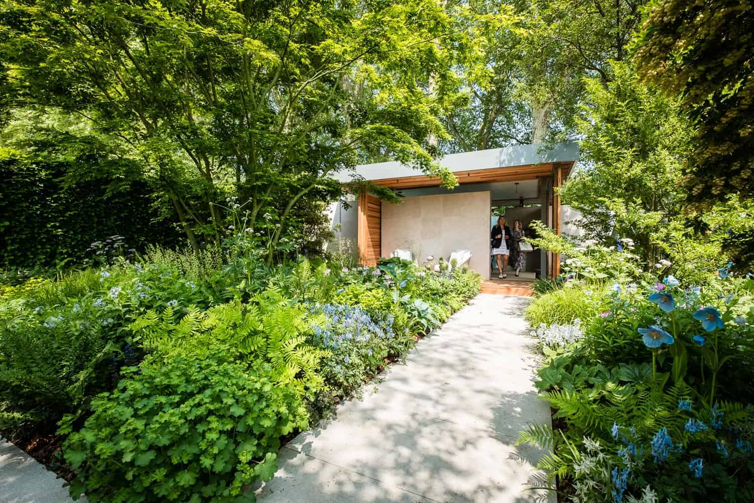 Chelsea Flower Show 2018 The Morgan Stanley Garden for the NSPCC