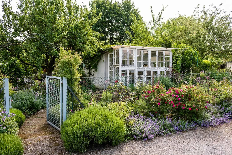 Unser Garten, vorher - nachher, der Eingangsbereich