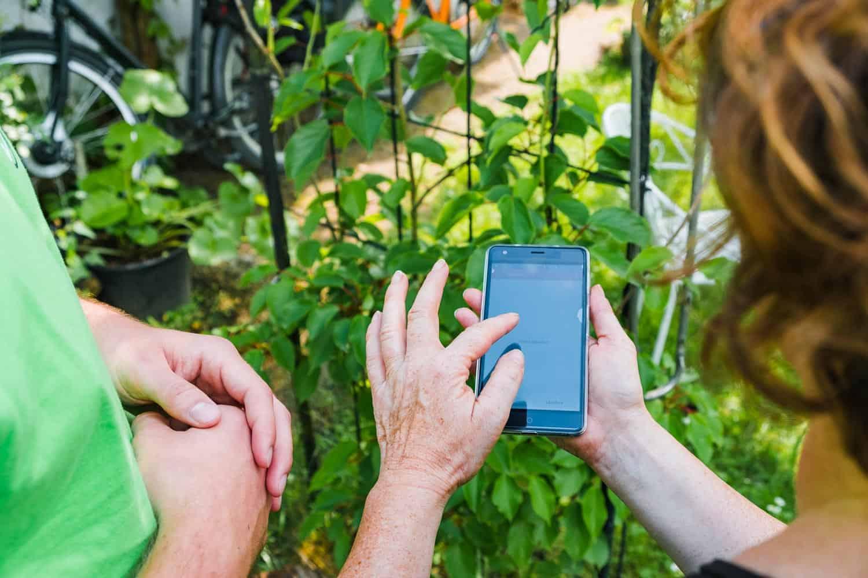 Hecke ausgraben Gartenhelfer Smarthands einloggen