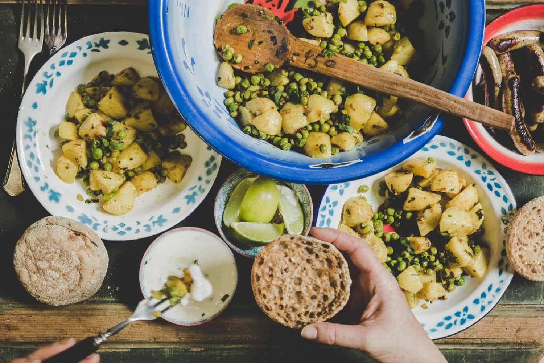 persischer Kartoffelsalat