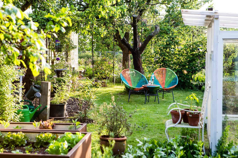 Gartengestaltung, Ideen und Beispiele für einen naturnahen und insektenfreundlich gestalteten Garten