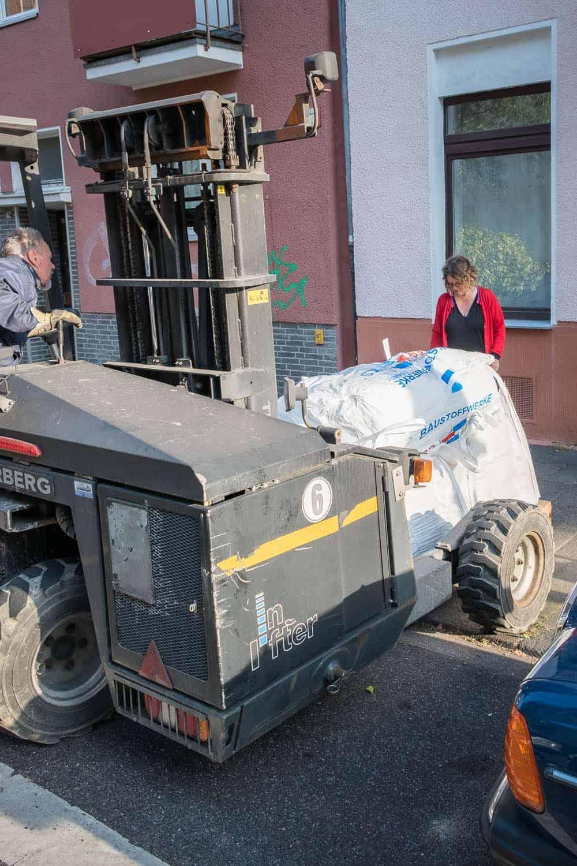 Terrasse Bauanleitung Materiallieferung