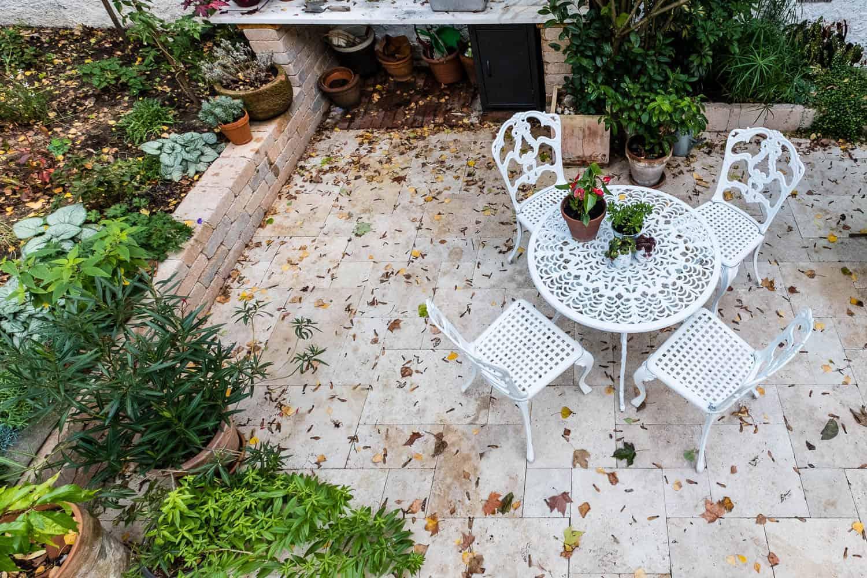 Terrasse winterfest machen - Der kleine Horrorgarten