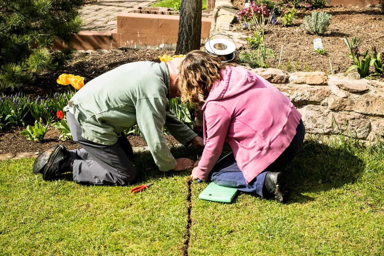Installation Rasenmähroboter Gardena